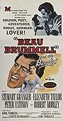 Beau Brummell (1954) Poster