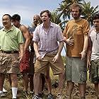 Adam Brody, Aaron Takahashi, Rob Huebel, Megan Boone, Eric Edelstein, and Juan C. Defendini in Welcome to the Jungle (2013)