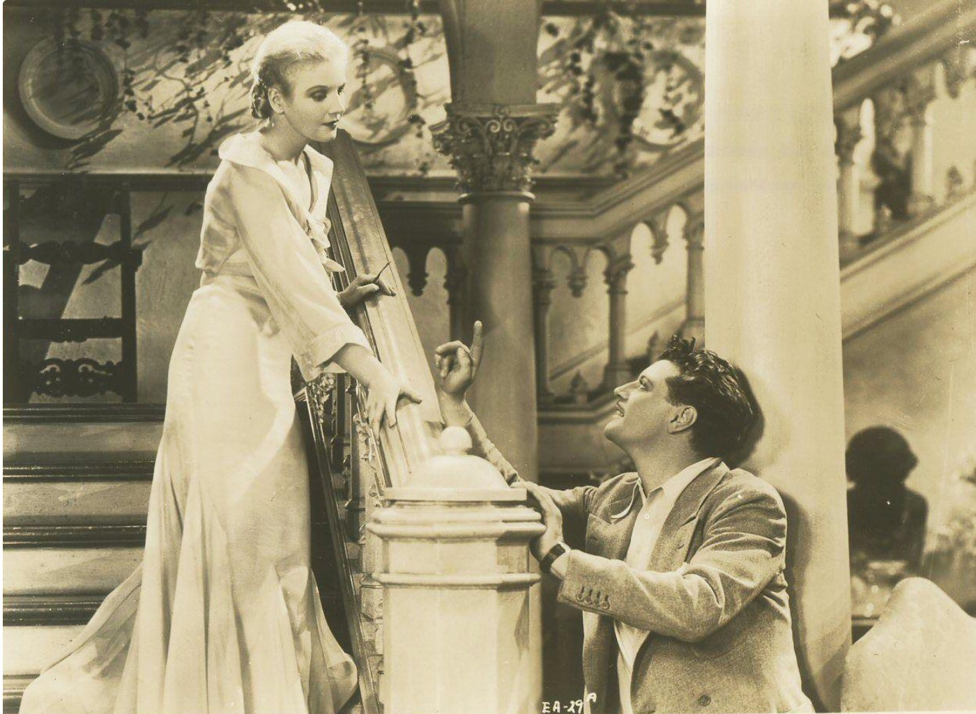 Ralph Forbes and Ann Harding in Enchanted April (1935)