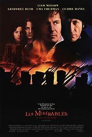 Claire Danes, Uma Thurman, Liam Neeson, and Geoffrey Rush in Les Misérables (1998)