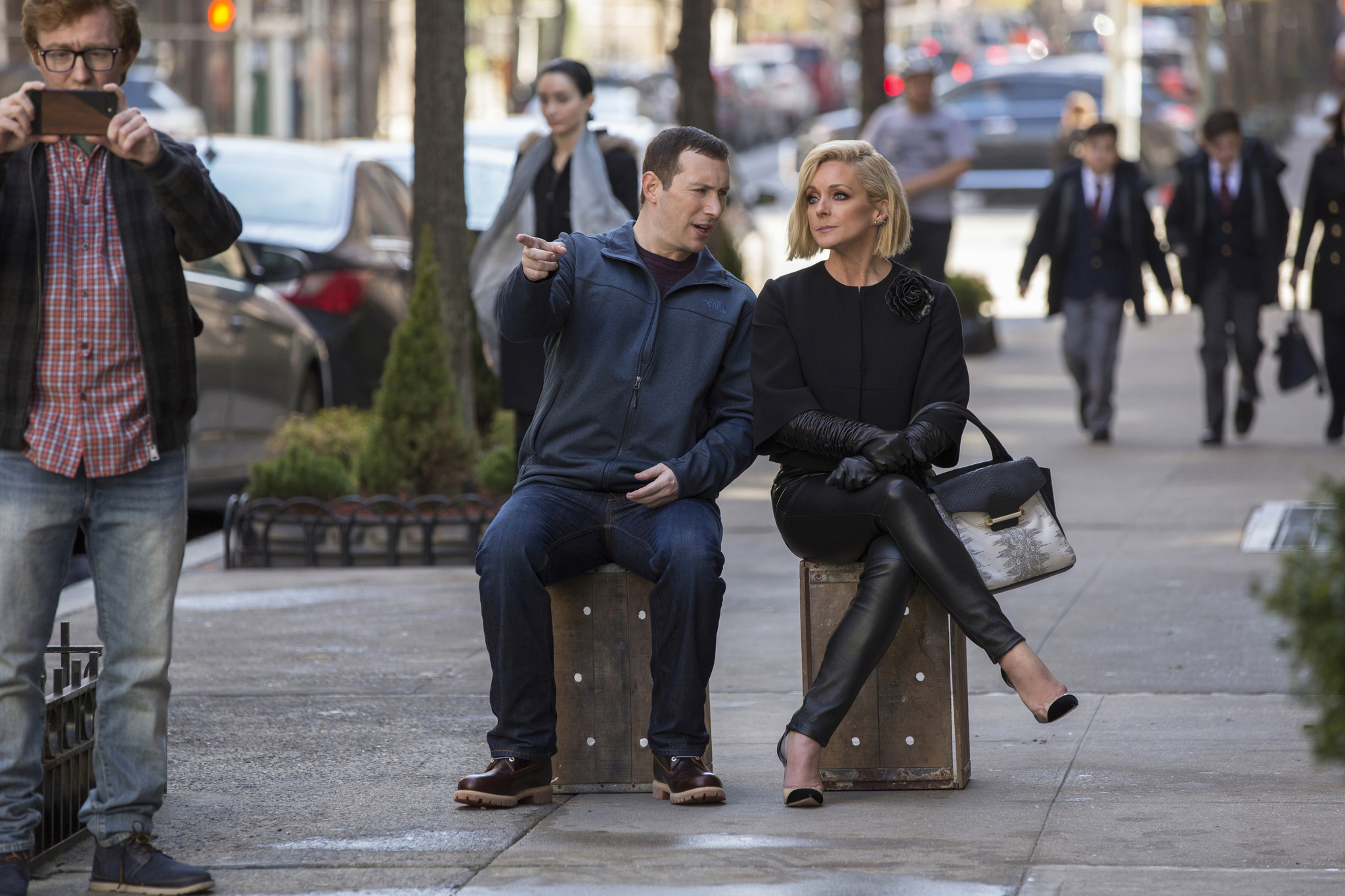 Jane Krakowski and Mike Carlsen in Unbreakable Kimmy Schmidt (2015)