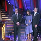 Ian Ziering, Tom Bergeron, and Cheryl Burke in Dancing with the Stars (2005)