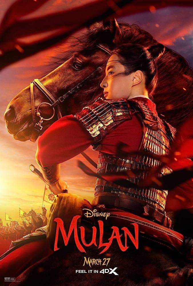 Mulan (2020) 720p | 480p DSNP WEBRip AAC x264 ESubs