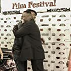 Lead actor Leon and Writer, Director Patrick Jerome at the world Premiere of Against The Jab