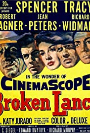 Broken Lance (1954) Poster - Movie Forum, Cast, Reviews