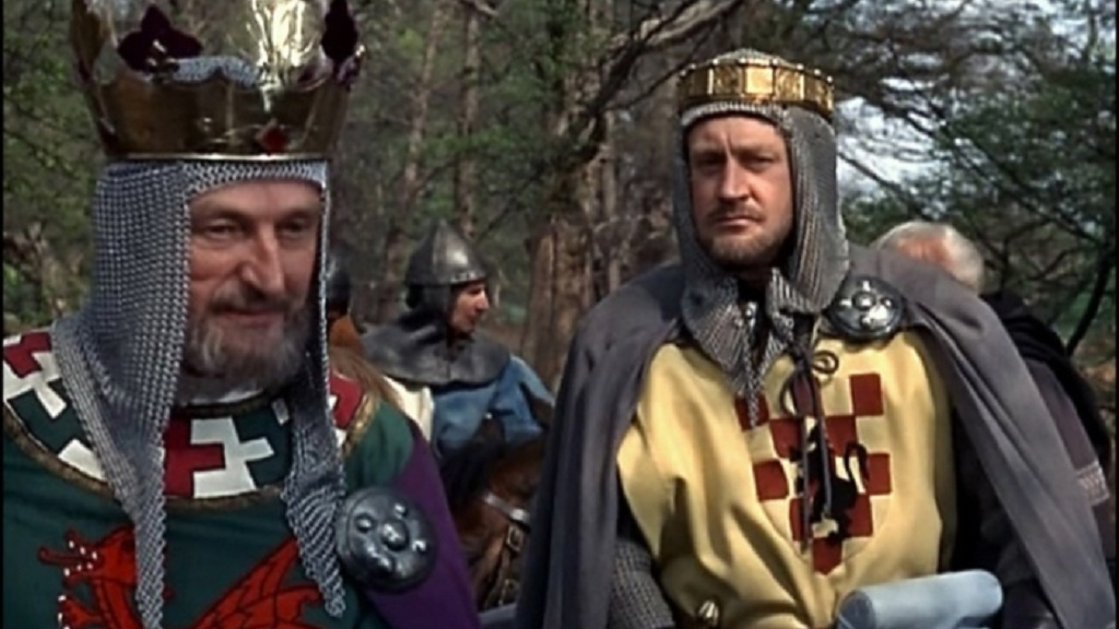 Mark Dignam and Ronald Howard in Siege of the Saxons (1963)