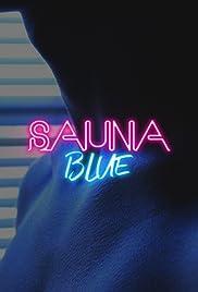 Sauna Blue Poster