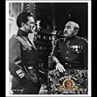 Kirk Douglas and Adolphe Menjou in Paths of Glory (1957)