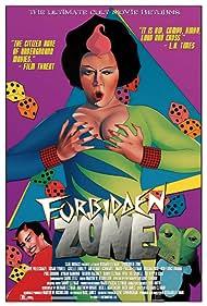 Danny Elfman and Susan Tyrrell in Forbidden Zone (1980)