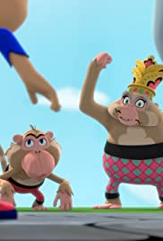 Babysitter Kapow!/Cave Kapow! Poster