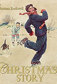 A Norman Rockwell Christmas Story Poster