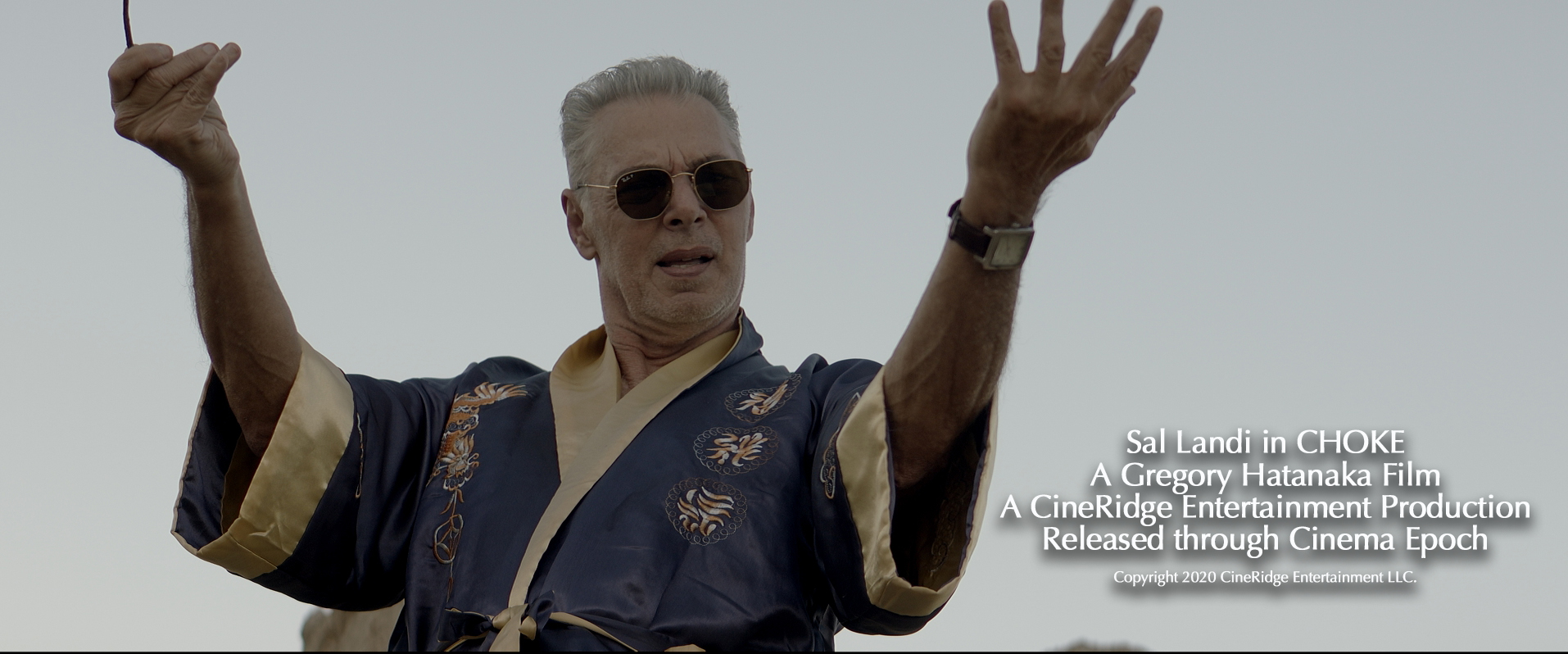 Sal Landi in Choke (2020)