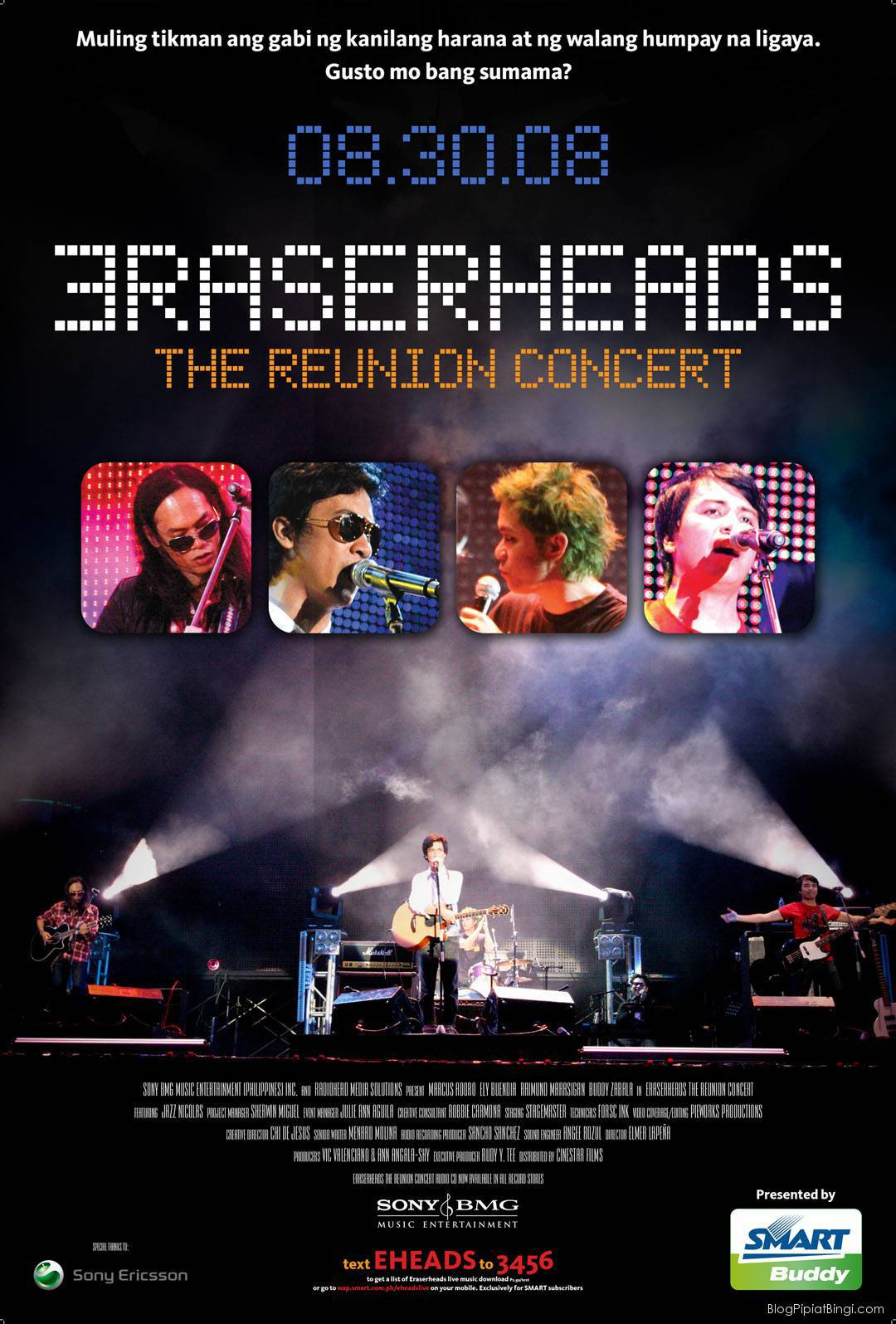 eraserheads the reunion concert 08.30.08