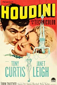 Tony Curtis and Janet Leigh in Houdini (1953)