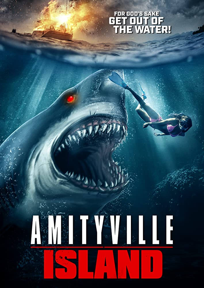 Amityville Island 2020 English Full Movie 720p HDRip 800MB Download