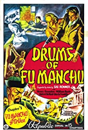 Drums of Fu Manchu Poster