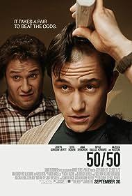 Joseph Gordon-Levitt and Seth Rogen in 50/50 (2011)