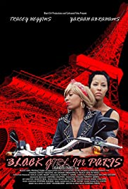 Black Girl in Paris Poster