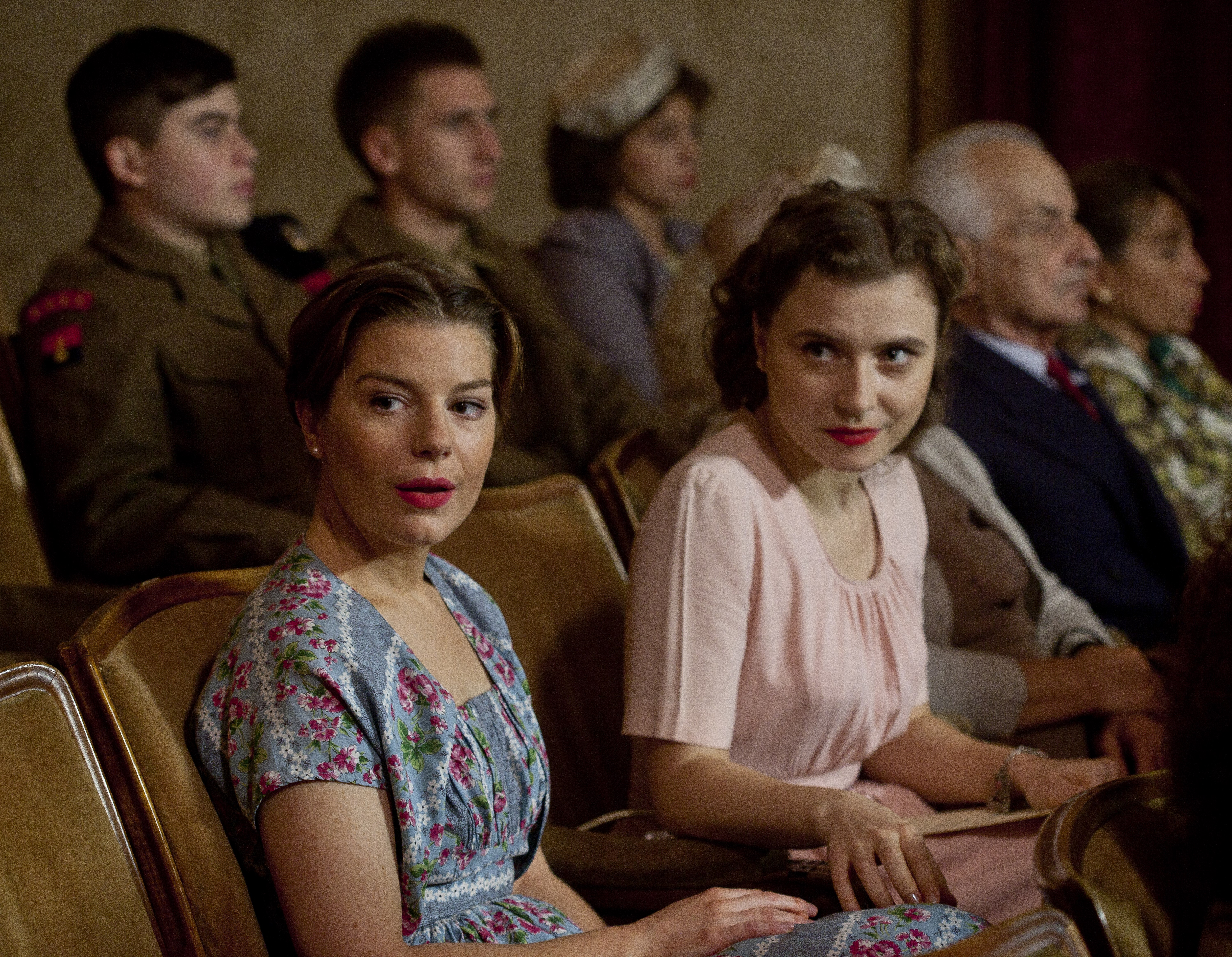 Aimee-Ffion Edwards and Miriam Rizea in Queen & Country (2014)