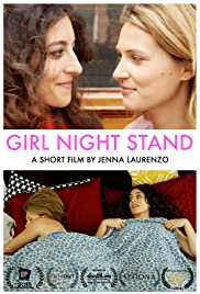 Girl Night Stand Poster