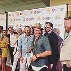 Timothy Omundson, Samaire Armstrong, Sean Covel, Dagen Merrill, Michael Raymond-James, Kyle Roper, and Matt Post at an event for Carter & June (2017)
