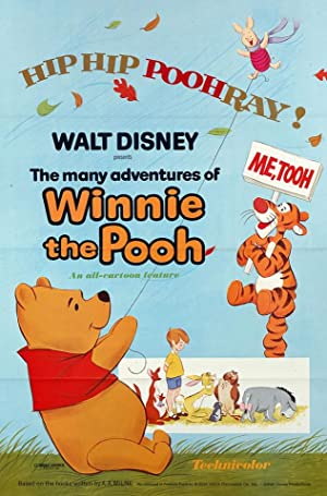 The Many Adventures of Winnie the Pooh Poster Image
