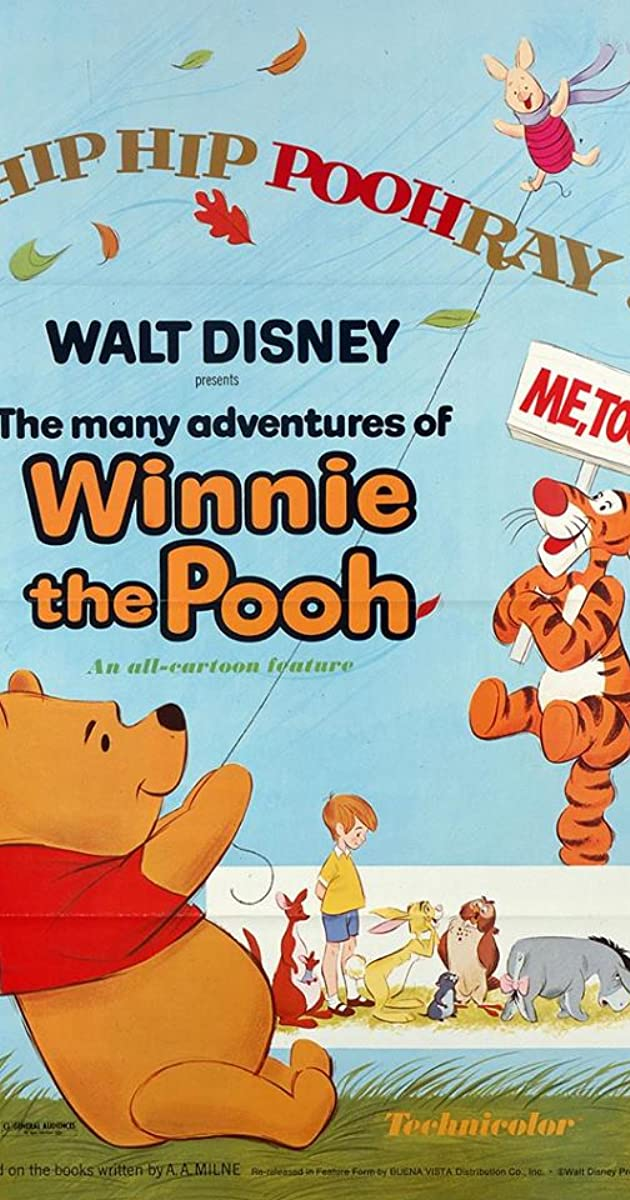 Subtitle of The Many Adventures of Winnie the Pooh