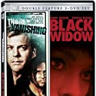Sandra Bullock, Jeff Bridges, and Kiefer Sutherland in Black Widow (1987)