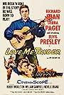Elvis Presley, Richard Egan, and Debra Paget in Love Me Tender (1956)