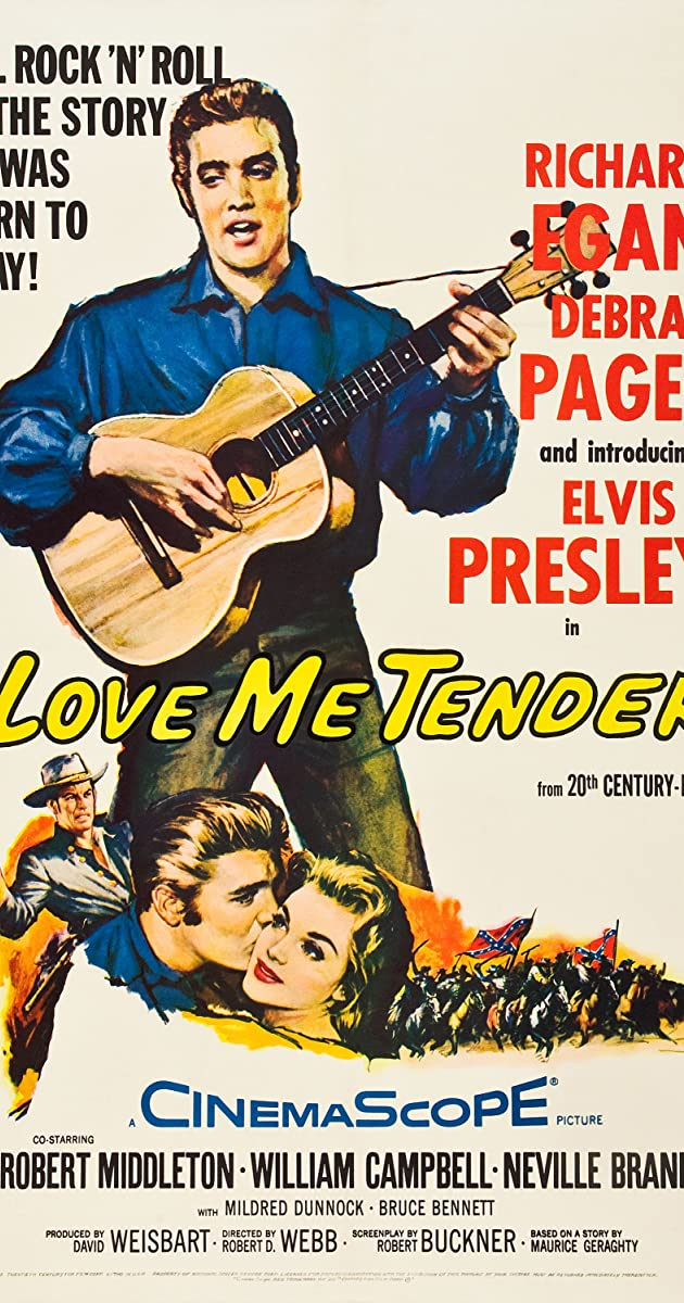 Subtitle of Love Me Tender