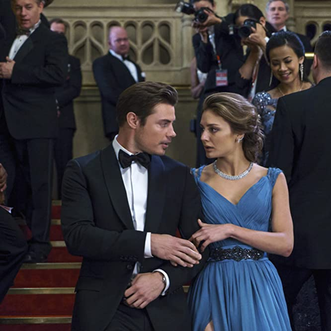 Josh Henderson and Christine Evangelista in The Arrangement (2017)