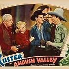 Bob Custer, John Elliott, Eddie Phillips, and Victoria Vinton in Ambush Valley (1936)