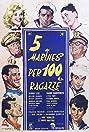 5 marines per 100 ragazze (1961) Poster