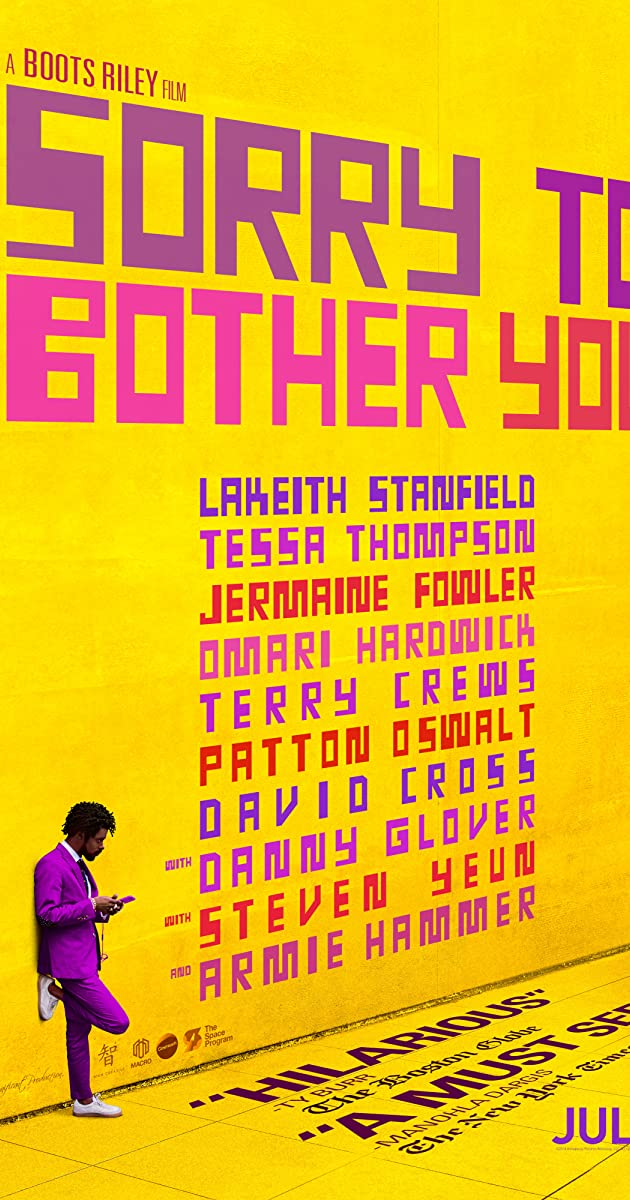 Watch Full HD Movie Sorry to Bother You (2018)