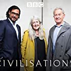 Simon Schama, David Olusoga, and Mary Beard in Civilisations (2018)