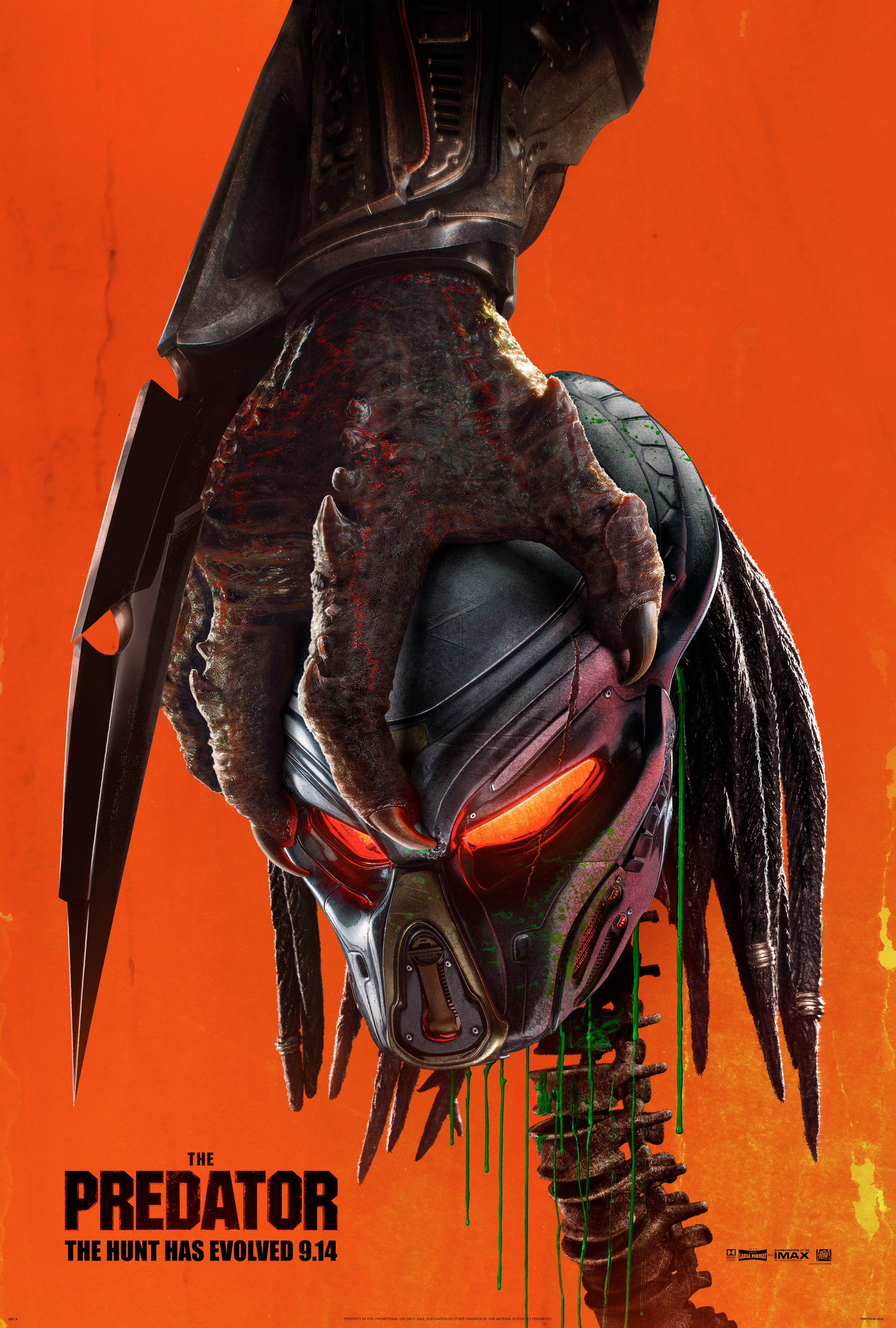 The Predator 2018 Hindi Dual Audio 720p BluRay 900MB ESubs