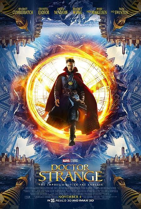 [PG-13] Doctor Strange (2016) Dual Audio Blu-Ray - 480P | 720P - x264 - 350MB | 950MB | 5GB - Download & Watch Online  Movie Poster - mlsbd