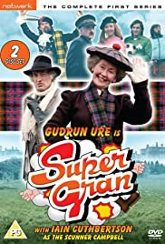 Supergran and the Doppelganger Poster