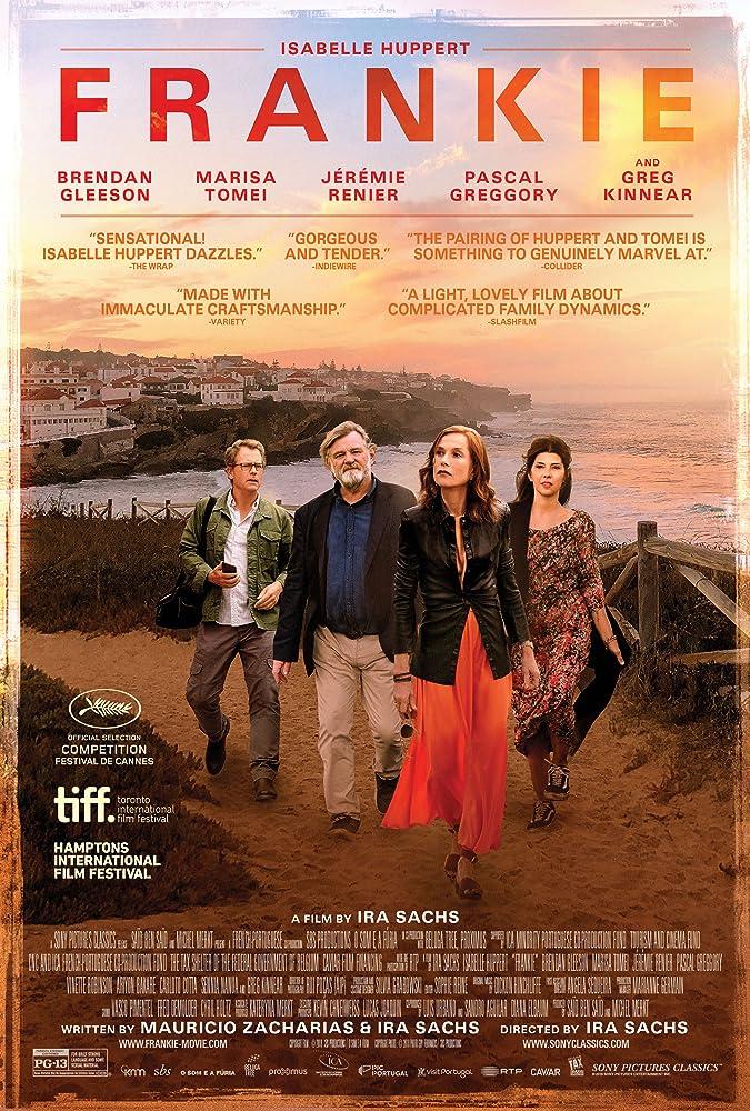 Marisa Tomei, Isabelle Huppert, Greg Kinnear, and Brendan Gleeson in Frankie (2019)
