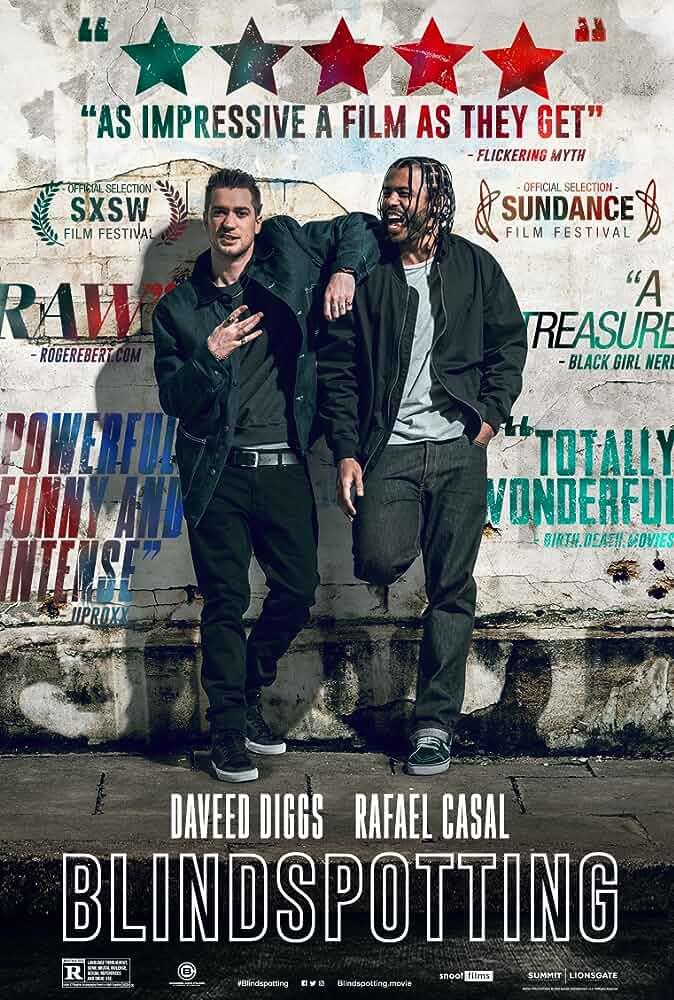 Rafael Casal and Daveed Diggs in Blindspotting (2018)