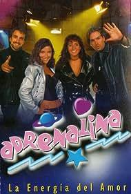 Luciano Cruz-Coke, Guido Vecchiola, Alejandra Herrera, and Francisca Merino in Adrenalina (1996)