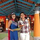 Anjali and Oviya in Kalakalappu (2012)