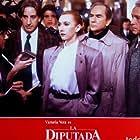Juanjo Puigcorbé and Victoria Vera in La diputada (1988)