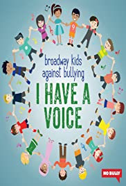 Broadway Kids Against Bullying: I Have a Voice Poster