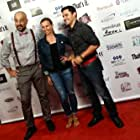 """Actors Serdar Kalsin, Ieva Georges, and Alberto Ocampo at the premiere of """"Wake"""" at the 48 Hour Film Festival in Los Angeles."""