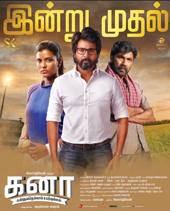 Not Out (Kanaa) 2021 Hindi Dubbed Full Movie 480p, 720p, 1080p HDRip Download