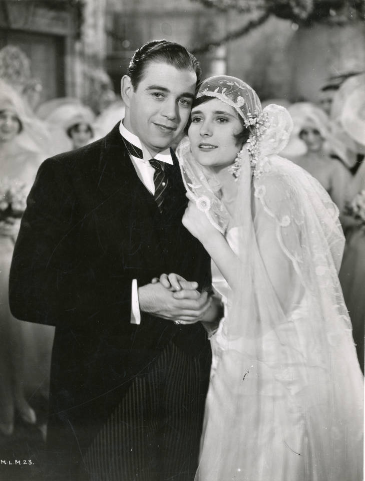 Morton Downey and Betty Lawford in Lucky in Love (1929)