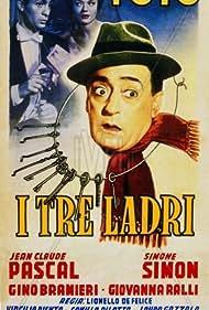 Jean-Claude Pascal and Totò in I tre ladri (1954)