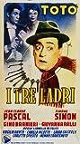 I tre ladri (1954) Poster