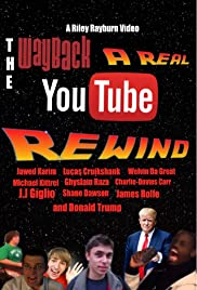 The Wayback: A Real YouTube Rewind Poster